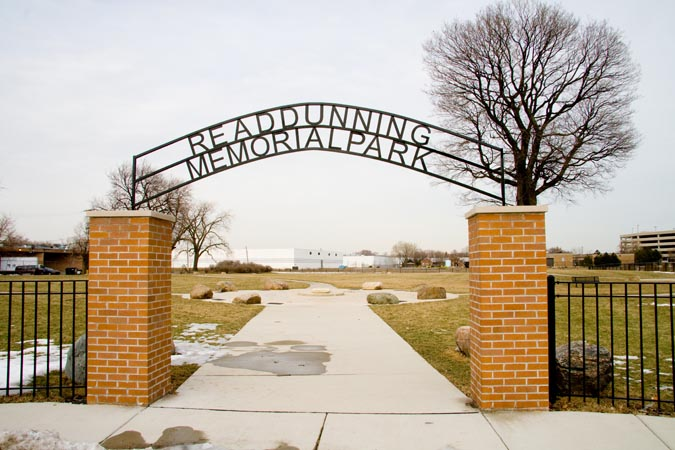 Cook County Cemetery at Dunning