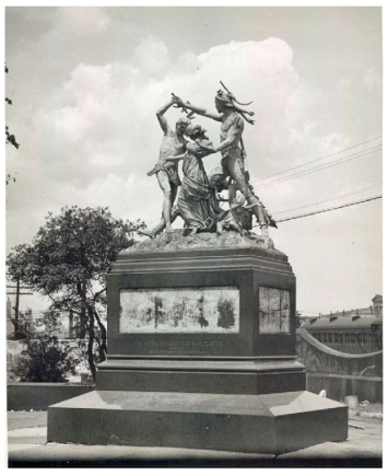 Massacre monument