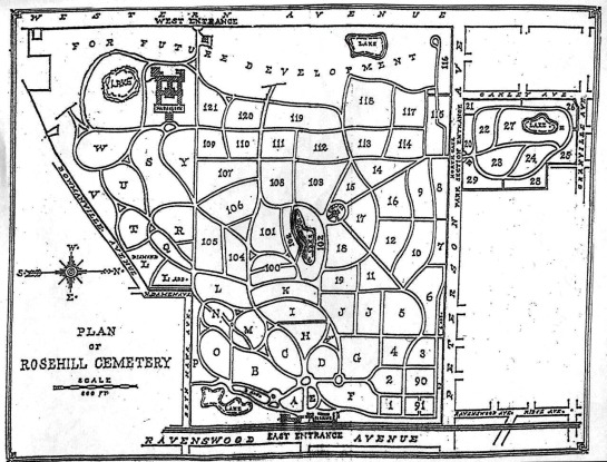 rosehill map
