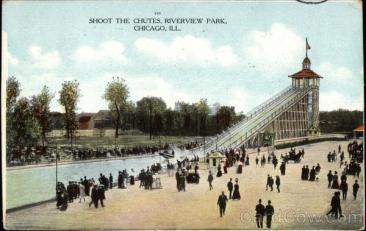 Shoot the Chutes, Riverview Park Chicago, IL