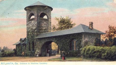 westview-cemetery-gate atlanta 1890