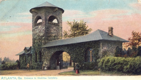 westview-cemetery-gate atlanta 1890