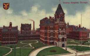 Cook County Hospital Circa 1910