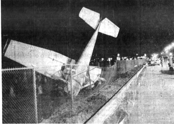 Airplanes and Cemeteries don't mix!