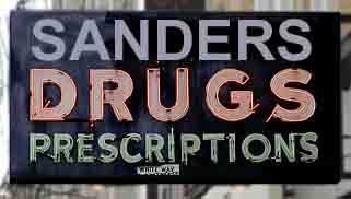 sanders sign